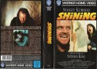 SHINING - STEPHEN KING - WARNER kl.Cover - VHS