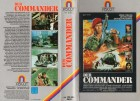 DER COMMANDER - LEWIS COLLINS  -  gr. HB Cover - VHS