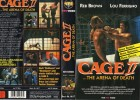 CAGE II -Lou Ferrigno- gr. Cover - VHS