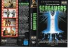 SCREAMERS - TÖDLICHE SCHREIE - gr. Cover - VHS