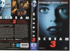 SCREAM 3  - gr. Cover - VHS
