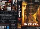 SIEBEN - Brad Pitt RARITÄT  - gr. Cover - VHS