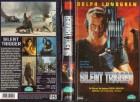 SILENT TRIGGER - Dolph Lundgren RARITÄT - gr. HB Cover - VHS