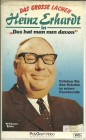 Heinz Erhardt - Das hat man nun davon - VHS