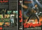 TOP FIGHTER - Sho Kosugi - gr. HB Cover- VHS