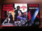Texas Chainsaw Massacre 1&2 und Leatherface