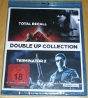 DOUBLE UP COLLECTION: TOTAL RECALL & TERMINATOR 2  BLU-RAY