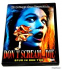 DON´T SCREAM ... DIE! (dont) - Troma/Horror/Deutsch - DVD