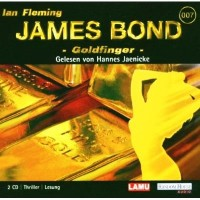 James Bond-Goldfinger Audio-CD – Audiobook OVP