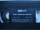 Peter schie�t den Vogel ab  ...  Peter Alexander - VHS !!!
