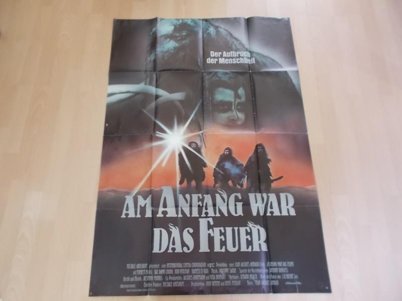 Am Anfang war das Feuer- Original Kinoplakat A0