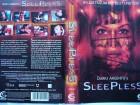 Dario Argento´s Sleepless ... Horror - VHS !! ...   FSK 18