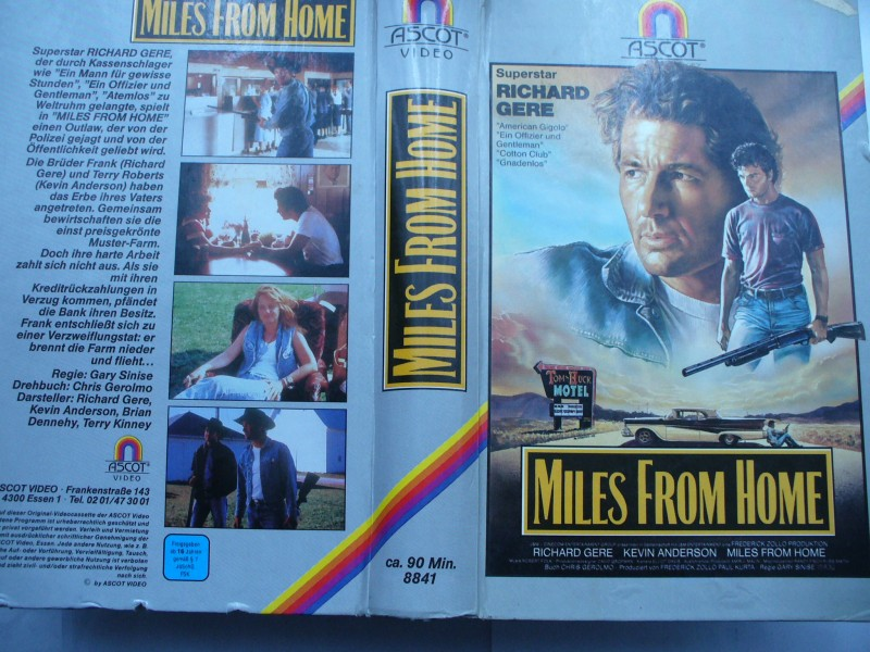 Miles from Home ... Richard Gere, Kevin Anderson