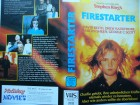 Stephen King - Firestarter ... Drew Barrymore . Horror - VHS