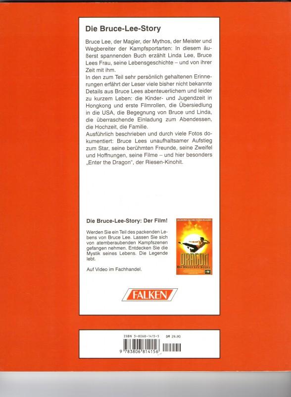 """Die Bruce Lee Story - Das Buch zum Film """"Dragon"""""""