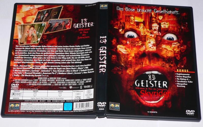 13 Geister DVD