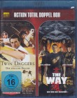 TWIN DAGGERS + THE WAY Blu-ray - 2 Filme Action Martial Arts