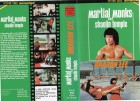 MARTIAL MONKS OF SHAOLIN TEMPLE - Dragon Lee - VHS