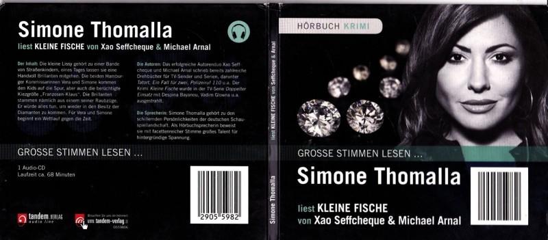 """Simone Thomalla liest """"Kleine Fische"""" Audio CD"""