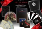 Hellraiser 1-3 - 4-Disc LimLaquered Velvet Edition Box OVP