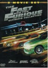 THE FAST AND THE FURIOUS 1 - 3 STEELBOOK