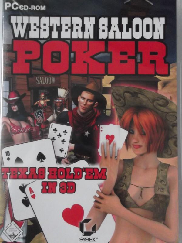 Western Saloon Poker Texas Hold'em 3D - Cowboy Cowgirl