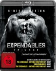 The Expendables Trilogy Teil 1+2+3 - Blu Ray - Uncut