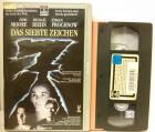 Das siebte Zeichen VHS RCA Video Erstausgabe! (D29)
