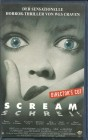 SCREAM - SCHREI - Director´s Cut - VHS - FSK 18