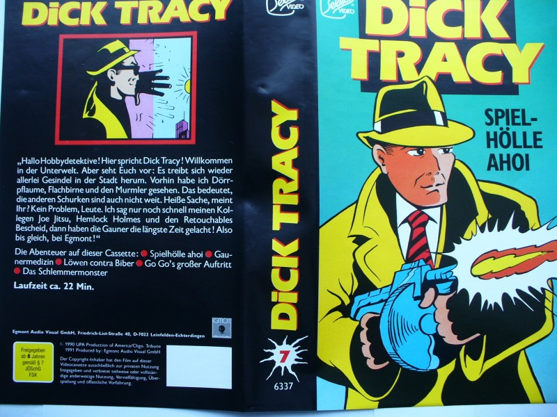 Dick Tracy - Spiel - Hölle Ahoi !  ... Select Video !!