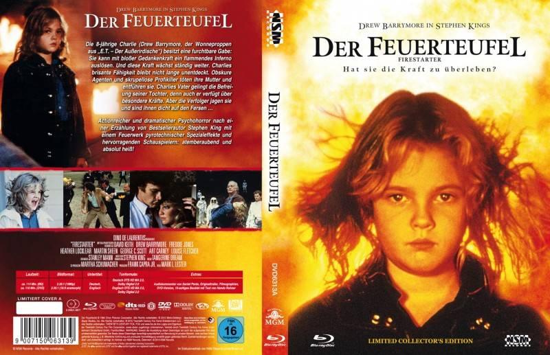 Der Feuerteufel - Mediabook A (Blu Ray+DVD) NSM - NEU