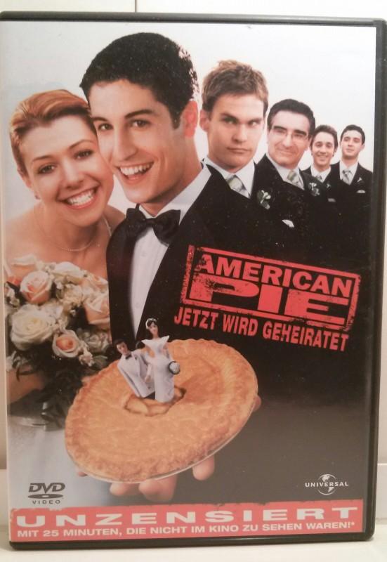 American Pie Jetzt wird geheiratet Unzensiert! Dvd (B)