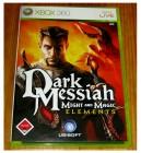 XBOX 360 - DARK MESSIAH - MIGHT AND MAGIC ELEMENTS - DEUTSCH