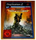 PS2 PLAYSTATION 2 - WARHAMMER 40000 FIRE WARRIOR - DEUTSCH -