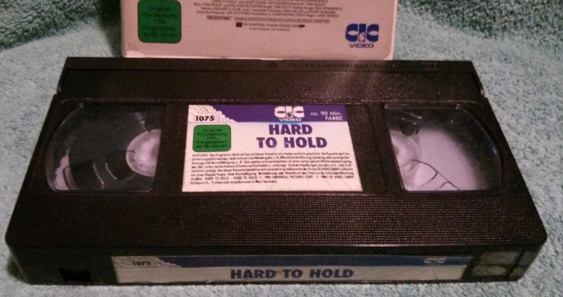 Hard to Hold VHS Rick Springfield CIC Bitte lesen! (E27)
