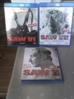 SAW V - unrated + VI + VII BLU RAY TOP FSK 18