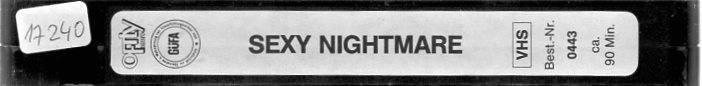 Sexy Nightmare (17240)