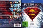 Superman - Die Spielfilm Collection / 5 Filme Blu Rays NEU