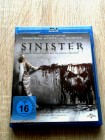 SINISTER 1 / BLURAY / HAUNTED HOUSE HORROR / UNCUT