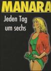 Manara Jeden Tag um sechs Porno Comic