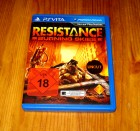 PS VITA RESISTANCE BURNING SKIES - KOMPLETT - DEUTSCH - USK