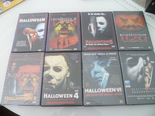 HALLOWEEN COLLECTION & Halloween Resurrection - ALLE UNCUT!!