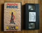 Depeche Mode - Live in Hamburg (1985) VHS Video Virgin