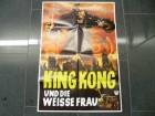 KING KONG UND DIE WEISSE FRAU - ORIGINAL KINOPLAKAT A1