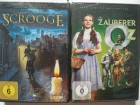 Kult Familien Filme ammlung - Der Zauberer von Oz & Scrooge