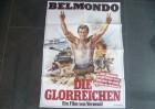BELMONDO - DIE GLORREICHEN - ORIGINAL KINOPLAKAT A1