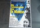 DIE TODESSTRAHLEN DES DR. MABUSE - ORIGINAL KINOPLAKAT A1