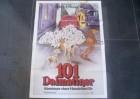 101 DALMATINER - ORIGINAL KINOPLAKAT A1