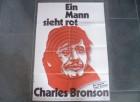 EIN MANN SIEHT ROT - CHARLES BRONSON - ORIGI. KINOPLAKAT A1