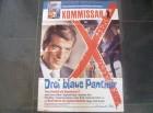 KOMMISAR X - DREI BALUE PANTHER - ORIGINAL KINOPLAKAT A1